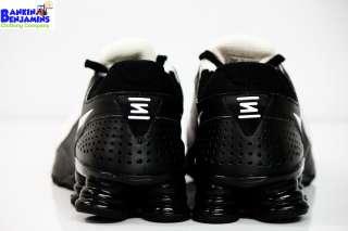 New Nike Shox Turbo+ 10 Running Shoes White Black Rare Air Max 360 SL