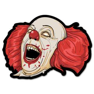 Evil Clown car styling auto moto sticker 5 x 4