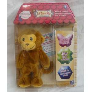Lil Luvables Fluffy Factory Tan Monkey Chimp Skin Toys