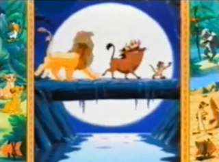 Disneys The Lion King Animated StoryBook PC CD kids animated movie