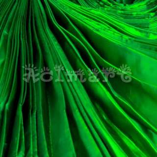 360a shining belly dance costume large isis wings green