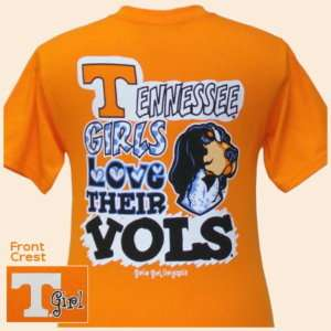 Tennessee Youth T shirt Tennessee Girls Love Their VOLS