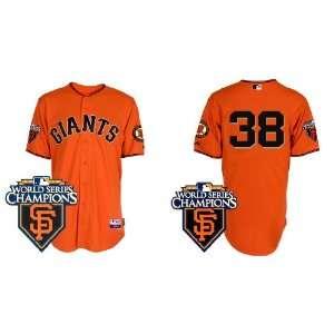 Wholesale New San Francisco Giants #38 Brian Wilson Orange