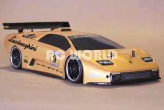 10 RC LAMBORGHINI MURCIELAGO RACE CAR BRUSHLESS RTR *BRAND NEW* 40