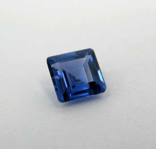 90 Carat Emerald Cut Blue Sapphire   Gem Quality Heated Only
