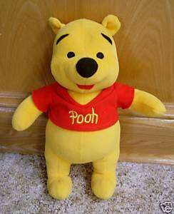 WINNIE THE POOH PLUSH BABYS FIRST POOH BEAR *SOFT* LN