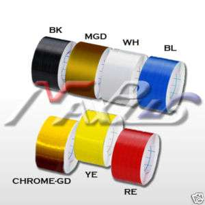 PinStriping Stripe Tape Vinyl Decals Stickers 4cm