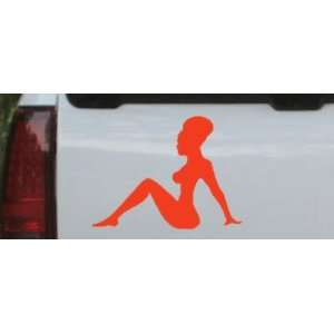 African Mud Flap Girl Funny Car Window Wall Laptop Decal