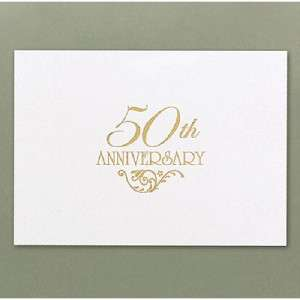 50th Wedding Anniversary Invitiations Cards Decorations