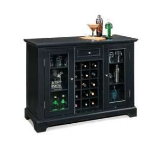 Home Styles Bedford Black Bar Cabinet   5531 99