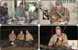 day Whitetail Deer/ Wild Boar Combo Hunt S Carolina