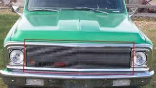 Billet Grille Insert 69   72 Chevy C/K Pickup Front Grill Aluminum