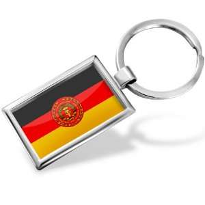 Keychain National Peoples Army (NPA) Flag   Hand Made