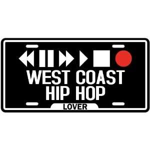 New  Play West Coast Hip Hop  License Plate Music
