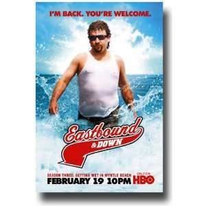 Eastbound and Down Poster   Promo Flyer   Danny McBride TV
