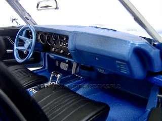 1971 CHEVROLET CHEVELLE SS 454 CONVERTIBLE 1:18 BLUE