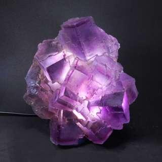 Natural Selenite Energy Light Healing Crystal Mineral Specimen Lamp