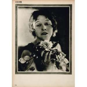 1923 Cleo Madison Silent Film Actress Director Print