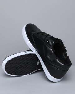 Knights Lancelot Lo Classic Low Cut Skate/Fashion Sneaker Black/White