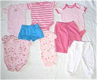 LNC HUGE 30 piece super cute mixed clothing lot infant baby girls