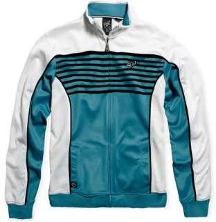 Fox Racing Jacket Track Attack White Blue Black XXL 2XL