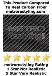 White 3D Flexible Carbon Fiber Vinyl Wrap 48x 120