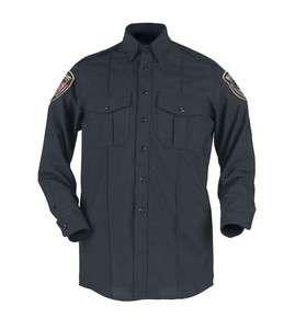 NWT Blauer Mens 8255 Long Sleeve Cotton Shirt Uniform Police Fire Ems