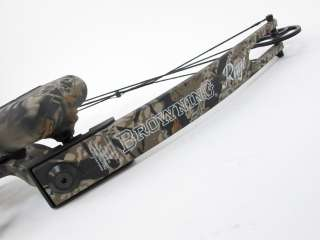 Browning Rage Compound Bow With Case RH 29/55