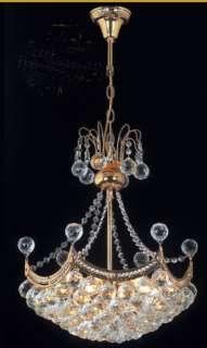 LIGHTS EMPIRE CRYSTAL CHANDELIER PENDANT LIGHTING JR 8811
