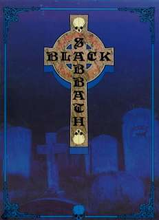BLACK SABBATH 1989 HEADLESS CROSS TOUR CONCERT PROGRAM BOOK