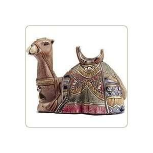 Camel Resting Figurine