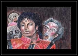 NC ART oswoa org painting michael jackson thriller
