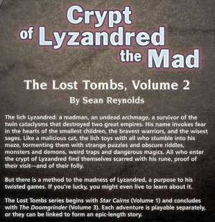 OF LYZANDRED THE MAD 9580 NM AD&D D&D TSR Dungeons Dragon