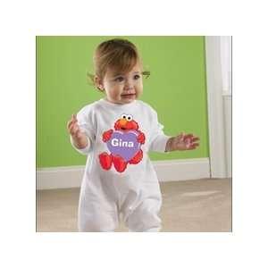 Valentines Day Gifts   Personalized Elmo Valentine Fleece
