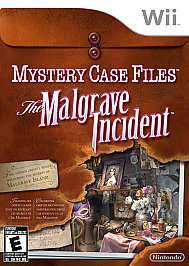Mystery Case Files The Malgrave Incident Wii, 2011