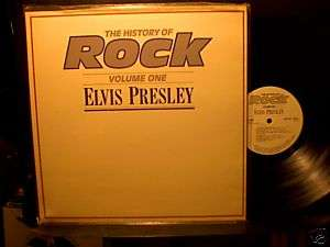 ELVIS PRESLEY The History of Rock Vol. 1 LP NM England
