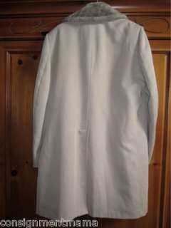 London Fog 42 Long Trench Rain Coat Khaki Lined
