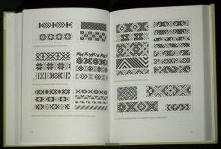 BOOK Lithuania Folk Costume belt weaving pattern ethnic