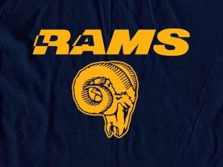 LA Rams Logo Tee Shirt   Los Angeles