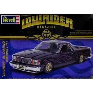 REVELL LOWRIDER, 78 CHEVY EL CAMINO LOWRIDER 2 N 1