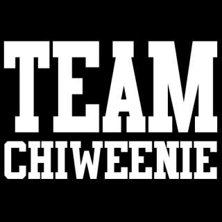 TEAM CHIWEENIE T SHIRT cute puppy dog gift owner new