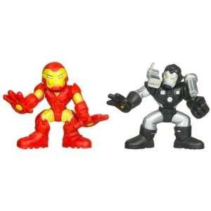 Superhero Squad Series 16 Mini 3 Inch Figure 2Pack Iron Man & War