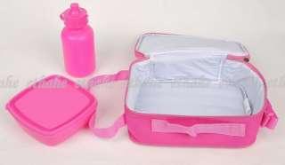 Hello Kitty Canvas Lunch Box Crossbody Bag Pink EIGENF