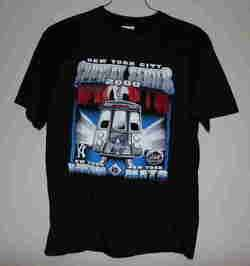 New York City Subway Series T shirt M 2000 Yankees Mets