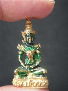 Phra Kaew Morakot Emerald Buddha Thai amulet pendant for your better