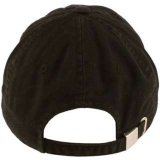 Cotton Twill Baseball Ball Cap Adjustable Hat Black