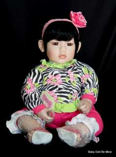 New in Box ♥ Adora ♥ ZEBRA ROSE 20 Doll with Black Hair * Brown