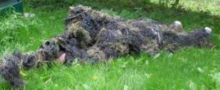 BRITISH ARMY STYLE SPECIAL FORCES / SNIPERS GHILLIE SUIT WOODLAND CAMO