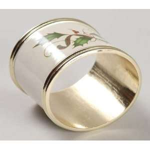 Lenox China Holiday Nouveau Gold Metal Napkin Ring, Fine