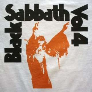 Black Sabbath Vol 4 t shirt Tall & long sleeve & Jersey & Ladies vtg